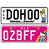 Number Plate Quiz