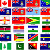 Commonwealth Games Flags
