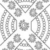 Aboriginal Dot Painting Template 2