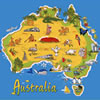 Race Around Australian Trivia game