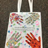 Hands on Tote Art Project