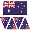 Australia Bunting Templates