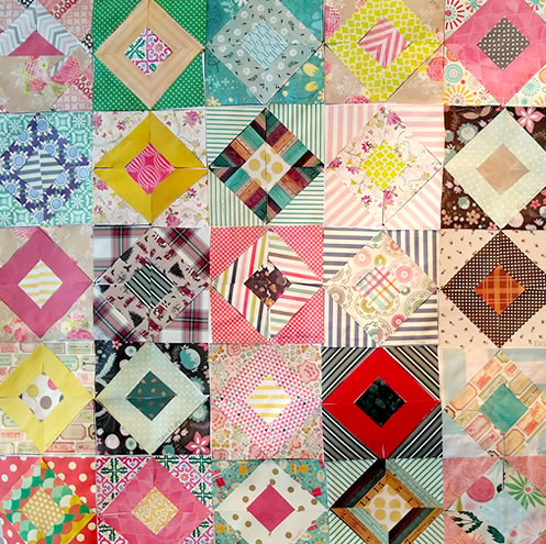 Community Scrapbook Quilt