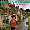 DIY Armchair Travel Postcards