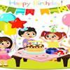 Birthday Party Word Scramble