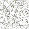 Maple Leaves - Coloring for Seniors