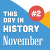 This Day in History for Seniors: November - 2nd Edition