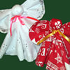 Standing Fabric Christmas Angels