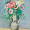 Artist Impression - Arshile Gorky - Flowers In A Pitcher