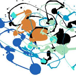 Artist Impression - Jackson Pollock - Abstract 1
