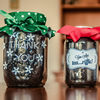 Gift Jar and Candle Holder
