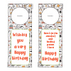 Birthday Door Hangers