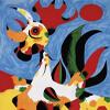 Artist Impression - Joan Miro - Le Coq
