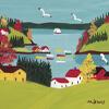 Artist Impression - Maud Lewis - Coastal Scene With Gulls