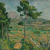Artist Impression - Paul Cezanne - Mont Sainte