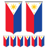 The Philippines Bunting Templates