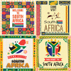 South Africa Travel Posters