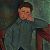 Artist Impression - Amedeo Modigliani - The Boy