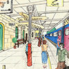 Find the Hidden Objects -  Train Station